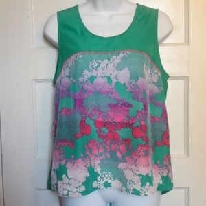 NWT Sz L sleeveless blouse by Nanette Lapore